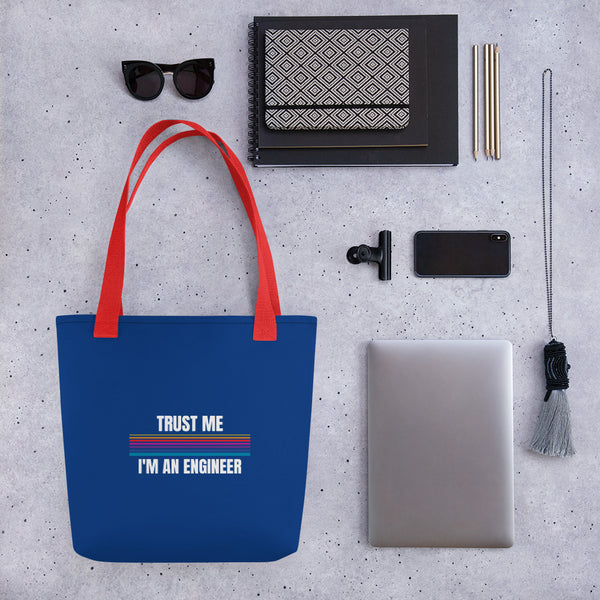 NEW Tote bag (Trust Me I'm An Engineer )Design specially made for the Engineers - Hobbies Finder