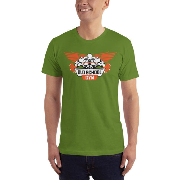 Old School Men Design Short-Sleeve T-Shirt - Hobbies Finder
