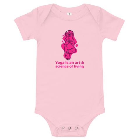 Yoga is an Art Design dress for your lovely baby - Hobbies Finder