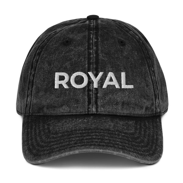 ROYAL Vintage Cotton Twill Cap