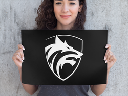 Be the Wolf Poster - Hobbies Finder