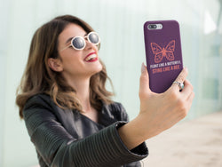 Float Like Butterfly Design Samsung Case - Hobbies Finder