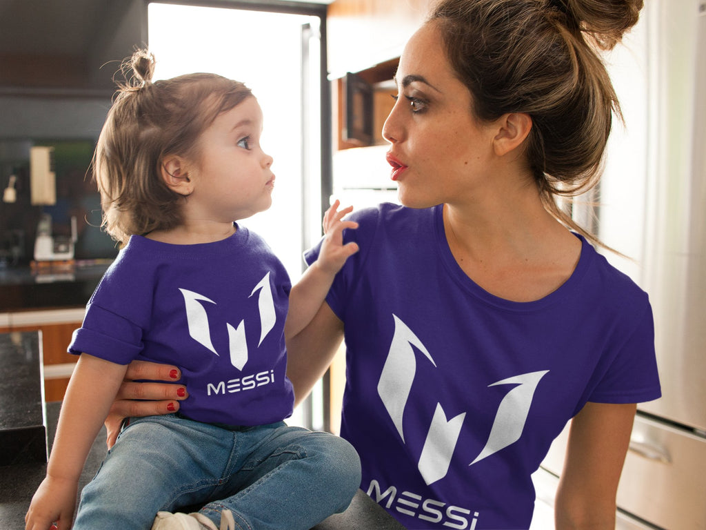 lowest price d8c57 551e9 Messi Logo Design for Baby Jersey Short Sleeve Tee