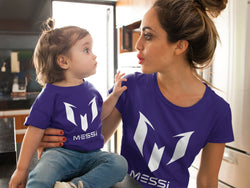 Messi Logo Design for Baby Jersey Short Sleeve Tee - Hobbies Finder