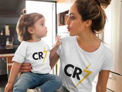 Cristino Ronaldo CR7 LOGO Design Baby Jersey Short Sleeve Tee - Hobbies Finder