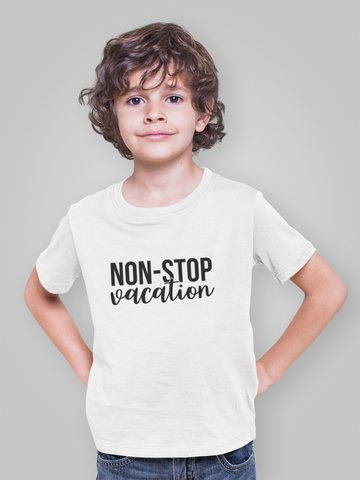 Non-Stop Action Youth Short Sleeve T-Shirt - Hobbies Finder