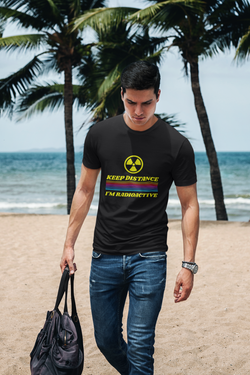 Keep Distance I'm Radioactive T-Shirt for Men