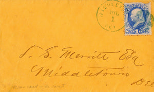 United States 156 Green On Cover