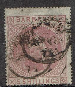 Barbados #43 Cancelled