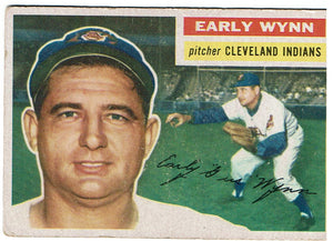 Baseball Early Wynn 1956 Topps 187
