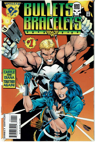 Bullets and Bracelets #1 Amalgam Comic Near Mint/Mint