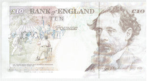 England Great Britain 10 Pounds KR 386a 1993-8 Unc