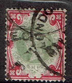 Great Britain #126 Cancelled