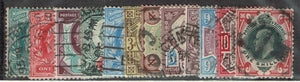 Great Britain #127-38 Set Cancelled