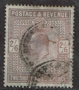 Great Britain #139 Cancelled