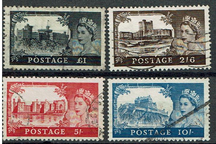 Great Britain #309-12 set Cancelled