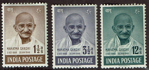 India #203-5 Gandhi Short Set