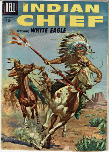 Indian Chief featuring White Eagle Dell Comic