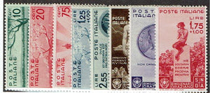 Italy #359-66 set MLH