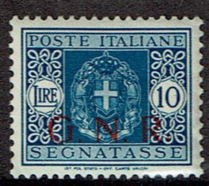 Italy #Mich 55 MH  Italian National Republican Guard Issue