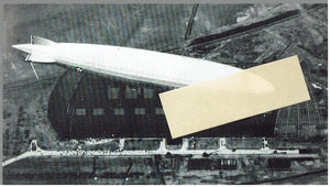 Real Photo Post Card Zeppelin LZ126