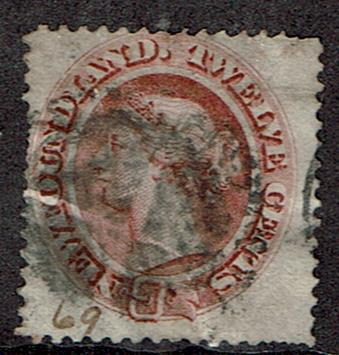 Canada New Foundland #28a Cancelled