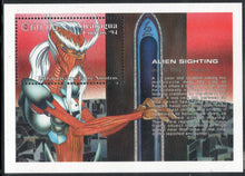 Load image into Gallery viewer, Nicaragua Scarce Issue Alien Sighting Stamps, Set of 8