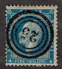 Norway #4   Rare 25 Cancel