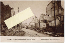 Load image into Gallery viewer, Photo Post Card Reims France after WWI