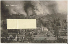 Load image into Gallery viewer, Real Photo San Francisco Fire 1906