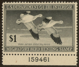 US RW14 US Federal Duck Stamp