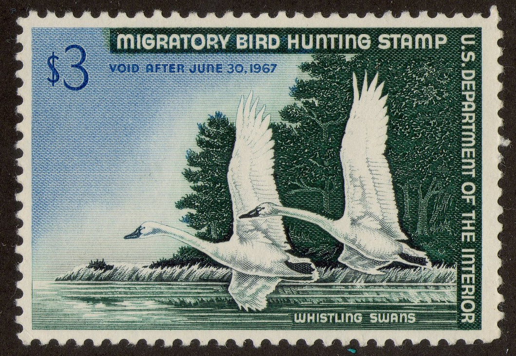 RW33 1967 Federal Duck Stamp