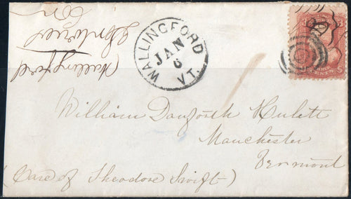 United States #88, On Cover
