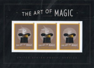 United States 5306, 2018 The Art of Magic (Souvenir Sheet of 3) 2018 Mint NH S/S