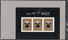 Load image into Gallery viewer, United States 5306, 2018 The Art of Magic (Souvenir Sheet of 3) 2018 Mint NH S/S