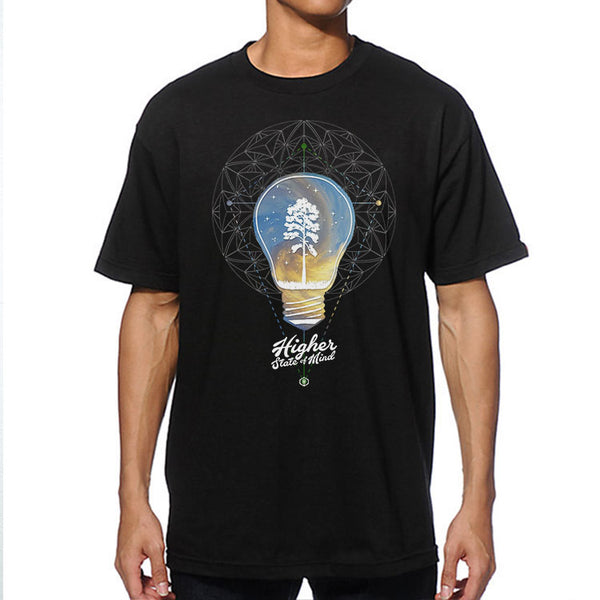 Lightbulb Mens Tee