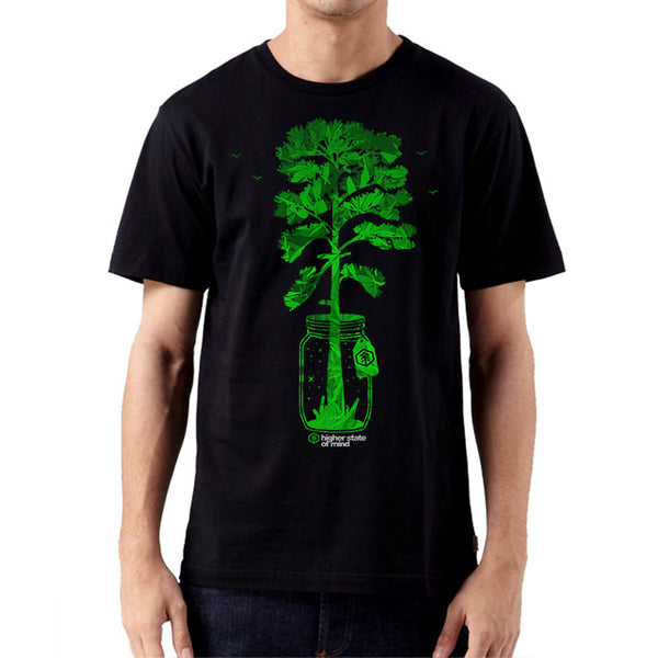 Tree In A Jar Mens Tee