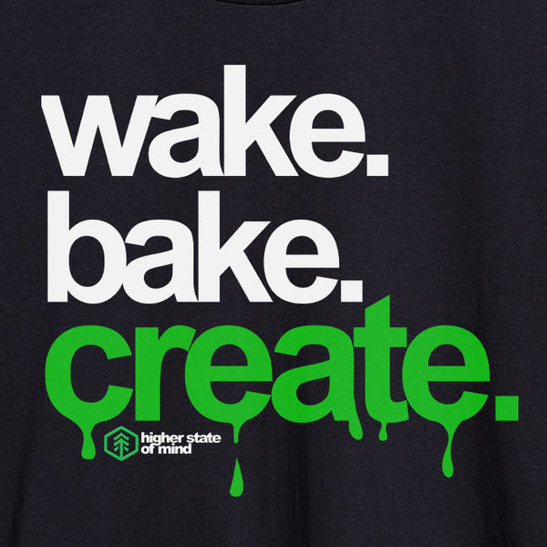 Wake Bake Create Tee