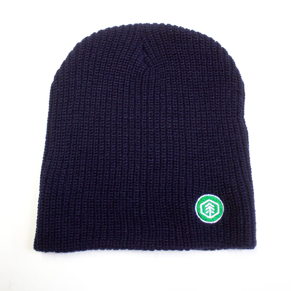 "Navy Blue 11"" Knit Beanie"