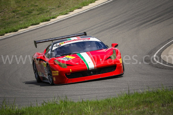 Ferrari 458 Challenge Car on Track