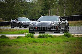 Chevrolet Corvette Z06s on Track
