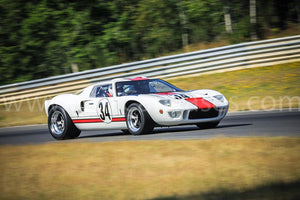 Ford GT40 Mark I on Track
