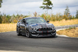 Ford Shelby GT350R Mustang on Track