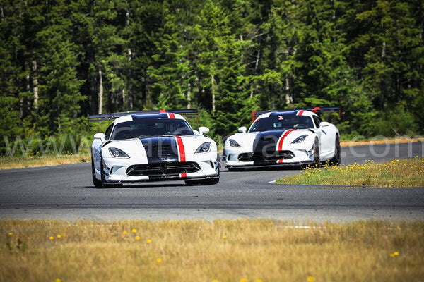 Dodge Viper ACRs on Track