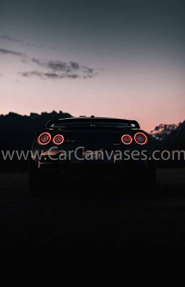 Nissan GTR Tail Lights
