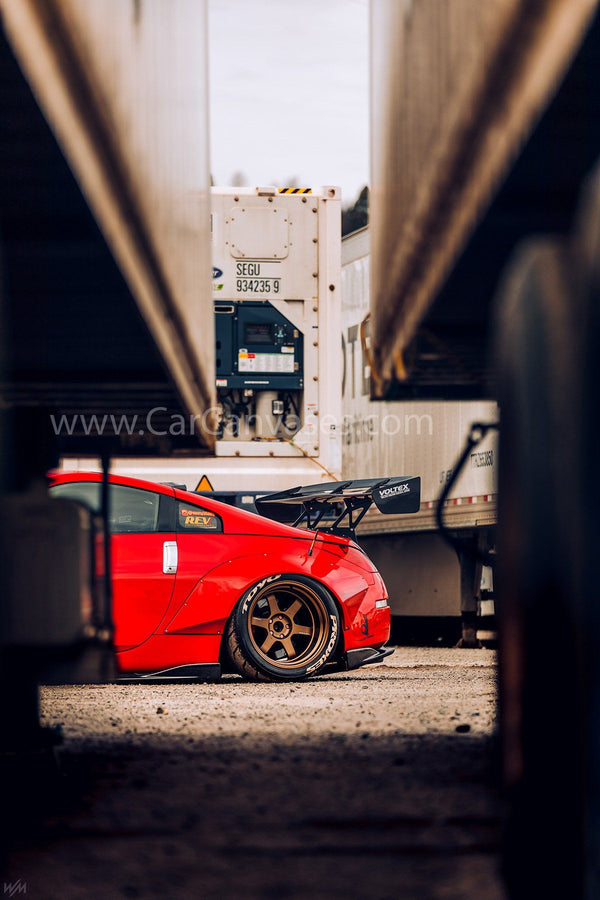 Rocket Bunny Nissan 350Z canvas car posters