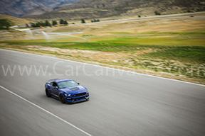 Ford Shelby GT350 on Track