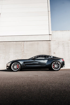 Aston Martin One 77 canvas car posters