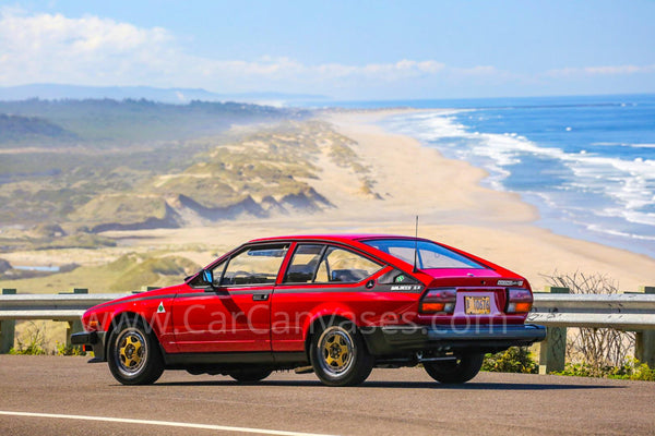 Alfa Romeo GTV6 Canvas Car Poster