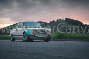 BMW 2002 Ti Alpina Tribute Canvas Car Posters